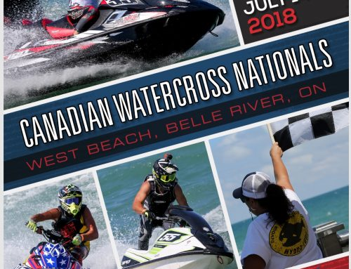 2018 Canadian Watercross Nationals: July 14-15, Belle River, Ontario